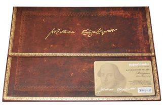 Shakespeare A4 Document Wallet